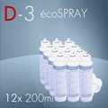 ECOSPRAY D-3 200ml. 12x